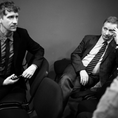 Илья Тимофеев и профессор Сергей Тюляндин