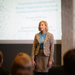 Кристина Закурдаева, учредитель и член Совета РакФонда